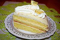"""лимонный торт """"Софья"""""""