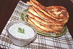 тонкие пирожки с картошкой (Лапти)