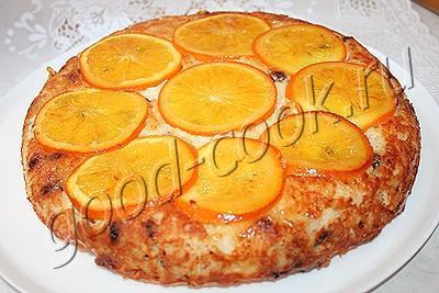 творожно-рисовая запеканка с изюмом и апельсином