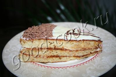 медовый торт в сковороде