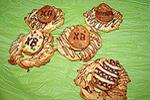 печенье Пасхальные гнёзда