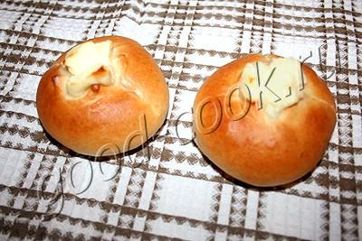 ватрушки (булочки с творогом)