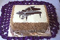 шоколадно-медовый торт со сметанно-ореховым кремом