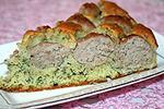 пирог с мясными шариками