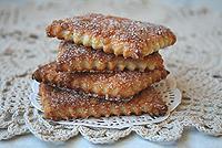 Творожное сахарное печенье
