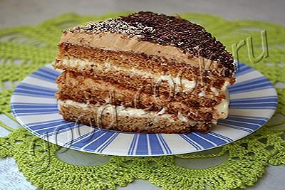 """медовый торт """"Лисёнок"""""""