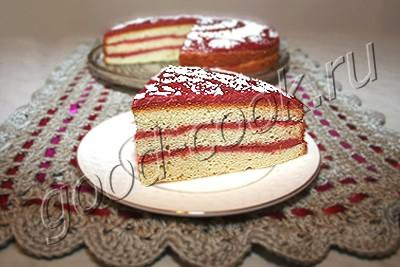 торт 'Сливовая осень'