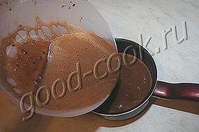 """шоколадный торт """"Наваждение"""""""