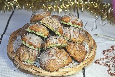 пряное рождественское печенье на вафлях