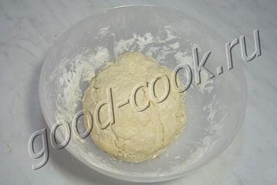 творожное печенье с яблочной начинкой