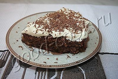 шоколадно-ореховый торт (без муки)