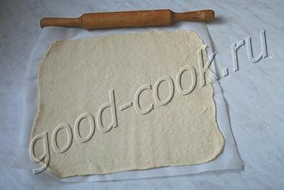 мясной пирог на сметанном тесте