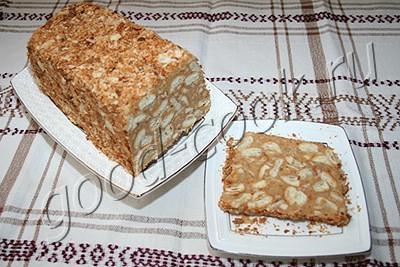 торт 'Наполеон' в форме