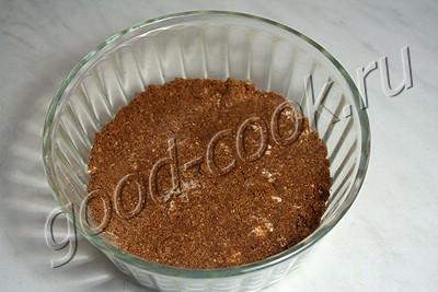 рассыпчатый вишнёвый пирог с шоколадными пряниками