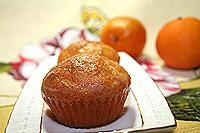 Кексы морковно-апельсиновые