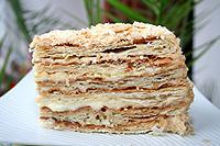 "торт ""Наполеон"" из магазинного теста"
