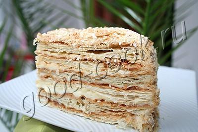 слоен торт на пиве рецепт