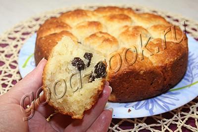 как приготовить классический творожный кекс с изюмом