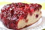 перевернутый пирог с вишней