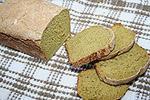 ржано-пшеничный хлеб с укропом и чесноком