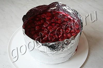 """торт """"Вишнёвый сюрприз"""""""