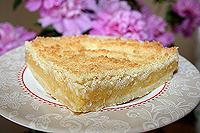 рассыпчатый лимонный пирог