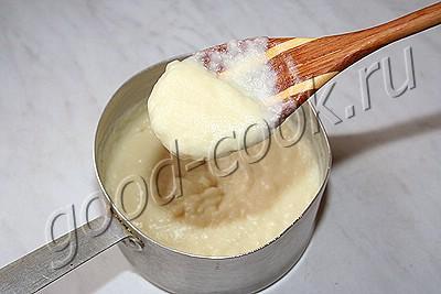 торт из печенья по-польски