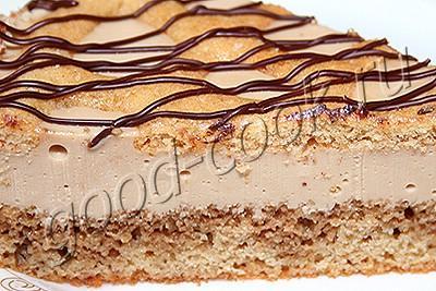 """творожно-кофейный торт-суфле """"Кардэ"""""""