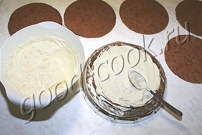 """шоколадно-медовый торт """"Юбилей"""""""