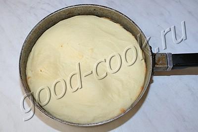 перевёрнутый пирог с творогом и ананасами