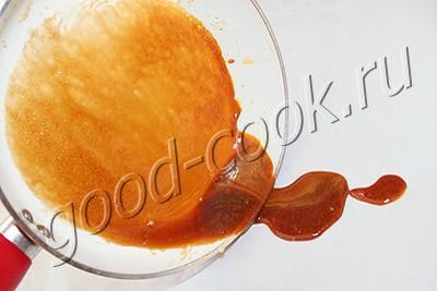 """торт """"Кристалл"""" с орехово-карамельным кремом"""