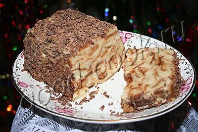 "торт ""мокрый Наполеон"" в форме"