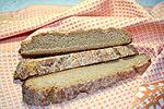 гречневый хлеб с плавленым сыром
