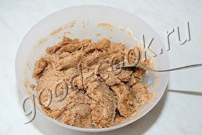 гречневый хлеб с плавленным сыром