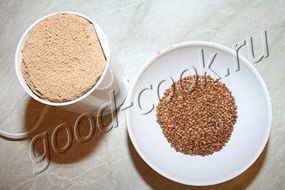 гречневое печенье с беконом