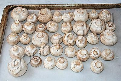 грибной пирог на сметанном тесте