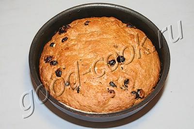постный пирог на чайной заварке