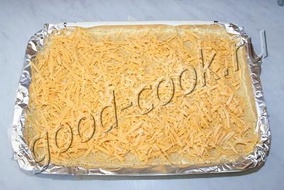 рассыпчатый сырный пирог
