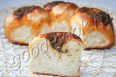 укропно-чесночные булочки-2