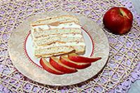 спиральный торт с абрикосами