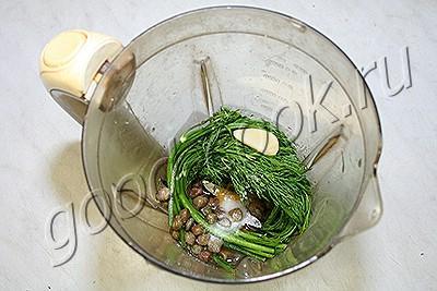 картофельная лепешка с пряной корочкой