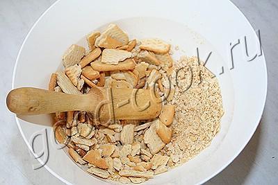 чизкейк с глазурью из ирисок