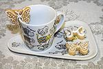 медовое печенье на чашку №2