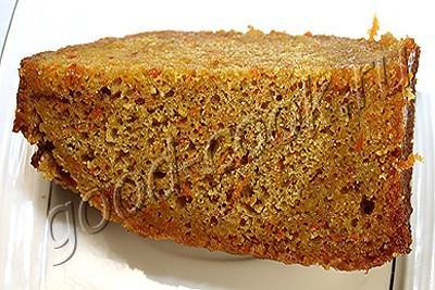 морковно-лимонный пирог в банке