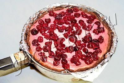 вишневый чизкейк