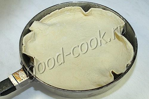 перевернутый пирог с бананами