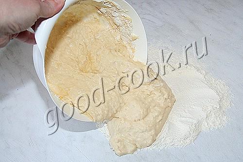тесто на кефире, рецепт приготовления