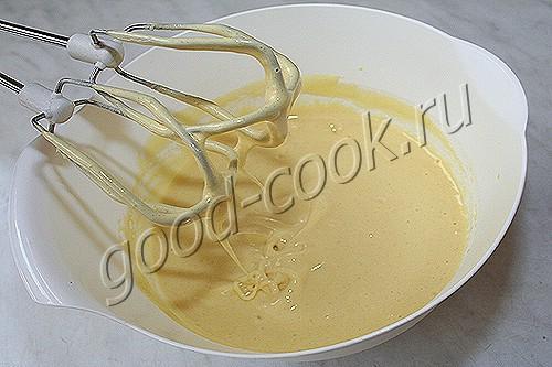 полубисквитное тесто