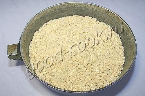 рассыпчатое песочное тесто