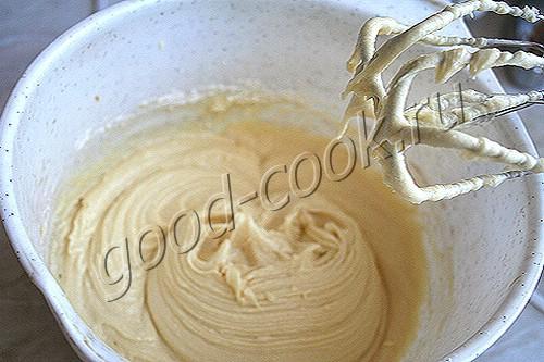 полубисквитное масляное тесто